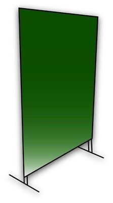 Coplay-Norstar Welding Screen with frame kit - Green  6' x 8'