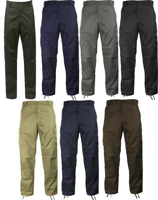 BDU Cargo Pants  Military Fatigue Solid Color Rothco