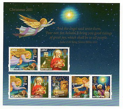 GB 2011 Christmas unmounted mint mini / miniature sheet MNH m/s stamps