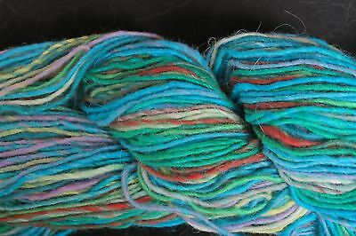 Noro SHIRAITO Luxury Yarn Greens Blues #26 Turquoise /& Brown