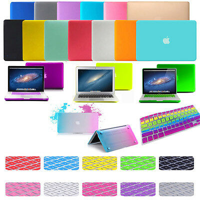 RUBBERIZED CASE COVER with Keyboard Skin for Apple MacBook