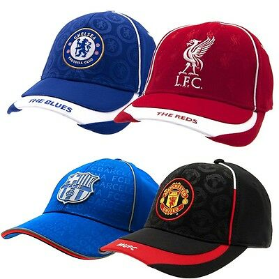 FOOTBALL CLUB SOCCER TEAM FC BASEBALL CAP HAT SUMMER ONE SIZE OFFICIAL LICENSED
