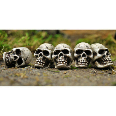 My Fairy Gardens Mini - Skulls Set of 5 - Supplies Accessories