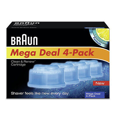 BRAUN Shaver Clean and Renew Refill Cartridges CCR1 CCR2 or CCR4 790cc 760cc