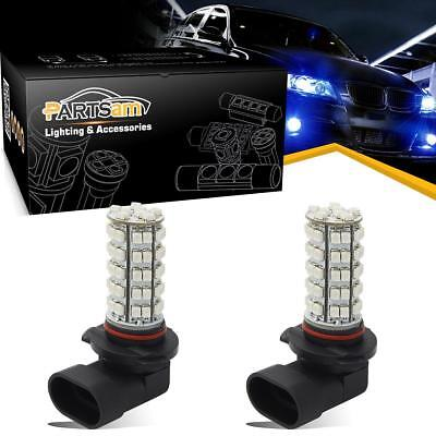 9005 HB3 Super Blue 68-SMD LED Bulbs For Driving Fog Light 2 pcs