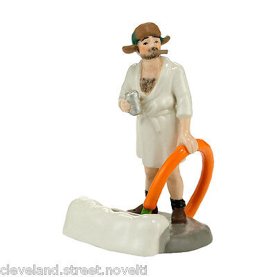 Dept 56 Snow Village Christmas Vacation Cousin Eddie In The Morning 4030741