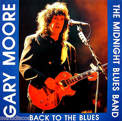 LPx2 - Gary Moore And The Midnight Blues Band - Back To The Blues (BLUE VINYLS)