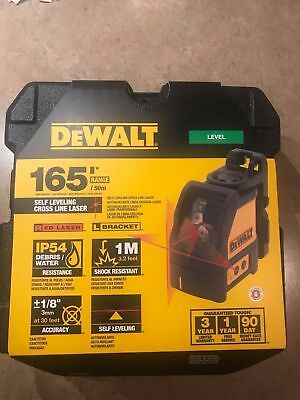 Dewalt DW088K 2 Way Self-Levelling Cross Line Laser Level DW088 DW088k