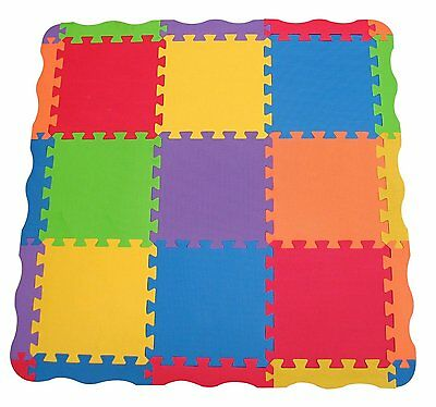 Edushape Tiles 25 Piece Play Mat Children Toddler Child Kids Playmat Baby Carpet