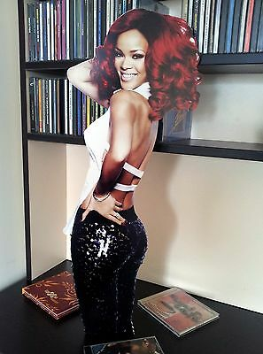 Rihanna DISPLAY Stand Standee NEW Can't Remember To Forget You Diamonds Stay