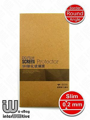 0.2mm Border Round Angle Tempered Glass Screen Protector LG Optimus G PRO F240