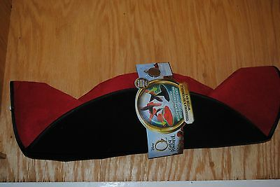 New Disney The GREAT and POWERFUL OZ Theodora's Reversible Witch Hat w/charm