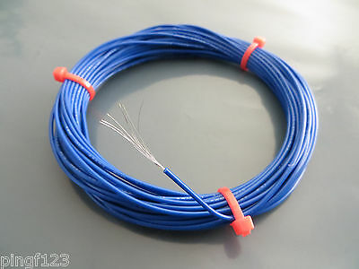 30 ft 26awg stranded hook up wire ship fm USA buy 2get1 free choice of 10 color