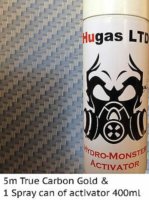 Hydrographics film kit and activator water transfer printing film HugasLTD
