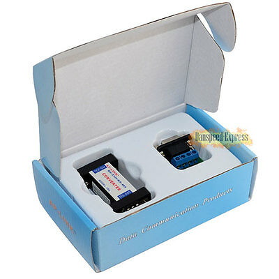 9 Pin RS-232 to RS-485 Data Communication Serial Adapter Interface Converter