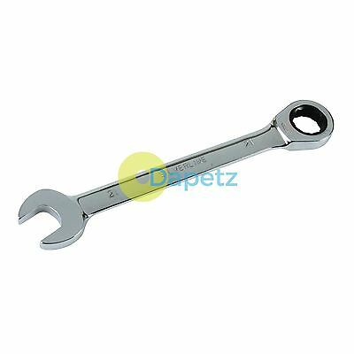 Quality Fixed Head Ratchet Metric Spanner Open End Ring Combination 21mm