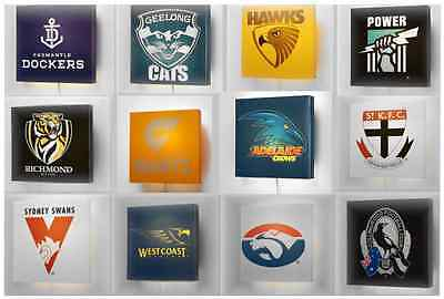 AFL Wall Lamp Select Your Team BNWT Kids Bedroom Bar Light