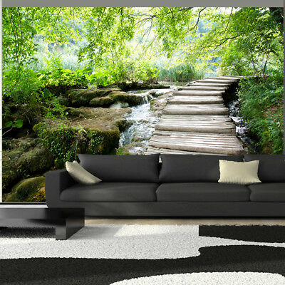 fototapete wald landschaft natur ausblick vlies tapete xxl wandbilder 101103 6 eur 8 99. Black Bedroom Furniture Sets. Home Design Ideas