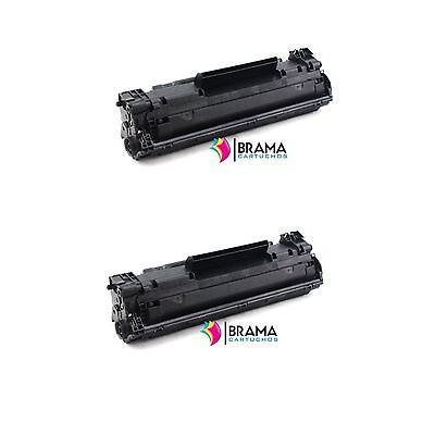 2 x Toner compatible Non oem  HP CF283A Hp 83A MFP M125nw / MFP M125rnw  M125