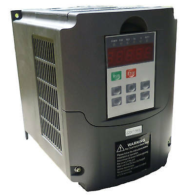 VARIABLE FREQUENCY DRIVE INVERTER VFD 1.5KW 18A Input 220V Output 380V New2