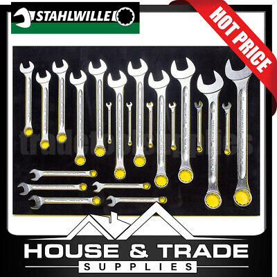 Stahlwille 22 Piece Combination Spanner Set Open Box SW13/22 TCS