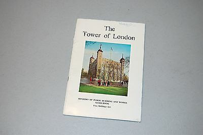 Vintage British Guide Book THE TOWER OF LONDON 1963