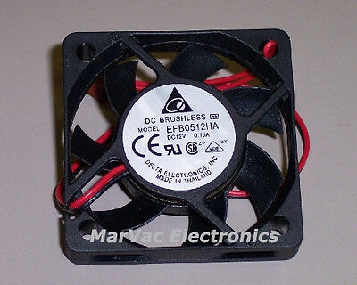 NEW 50mm x 10mm 12V DC, Universal Cooling Fan EFB0512HA