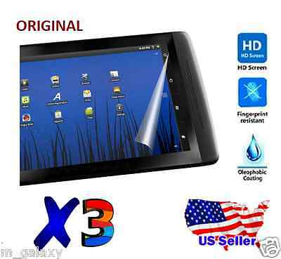 3x Universal 7 inch Anti Scratch Screen Protector Film For Tablet PC MID GPS MP4