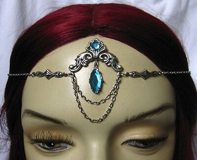 Goth RENAISSANCE Medieval Elf ELVEN Circlet Crown Headpiece Headdress Halloween