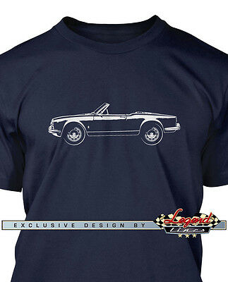 Alfa Romeo Giulietta Spider Veloce T-Shirt for Men - Multiple Colors and Sizes