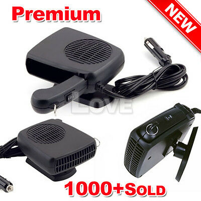 OZ Fan Defroster Demister 12V 150W Vehicle Car Heater Ceramic Portable Heating