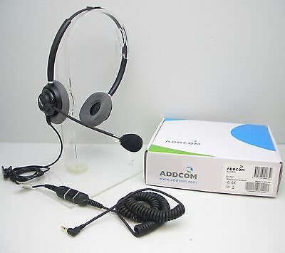 ADD110-06 2.5mm Headset for Cisco 504 509 525 921 922 941 Polycom320 321 330 331