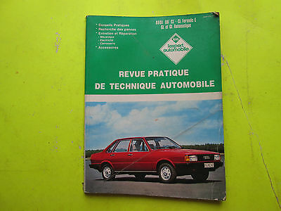 Revue Pratique De Technique Automobile / Audi 80 Cl-Cl Formule.e  / 1986 / B6E6