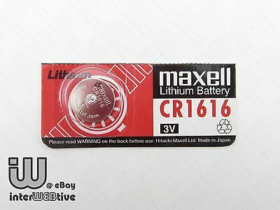 2 Pieces New in Package Maxell CR1616 CR 1616 DL1616 Coin Cell Battery 3V