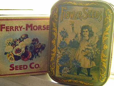 Ferry Morse Seed Co.   D.M. Ferry & Co.  flower seed company  TIN  2  Read Disc