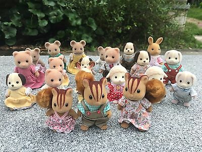 10pcs/Set Sylvanian Families Animal Figures Random Sending New Loose