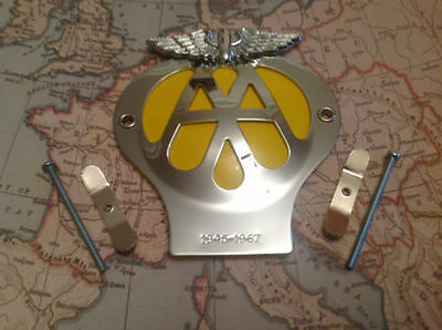 Classic Aa Car Badge 1945 - 1967 In Great Condition As Per Photo