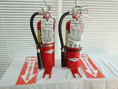 Fire Extinguisher - 5Lb ABC Dry Chemical  - Lot of 3