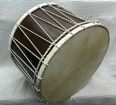 Turkish Professional Davul Percussion Walnut Drum