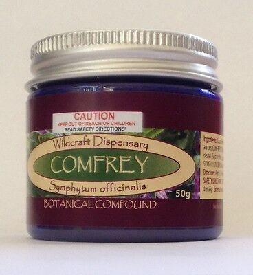 COMFREY 50g Natural Herbal Ointment  bones pain muscles Cream Leaf and Root