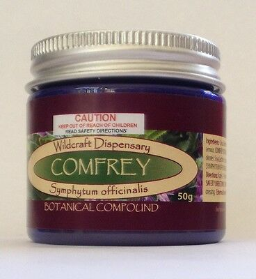 COMFREY 50g bones pain muscles Natural Herbal Ointment Cream Leaf and Root