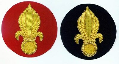French Foreign Legion Flaming Bomb Patch black copy only