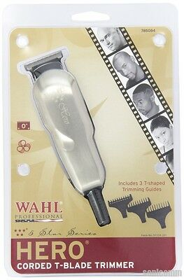 WAHL 5 STAR HERO PROFESSIONAL TRIMMER #8991 CORDED T-BLADE BARBER HAIR CLIPPER