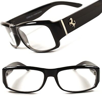 trendy mens glasses 9sie  Designer Fashion Modern Stylish Cool Mens Womens Clear Lens Glasses Frame  E59A