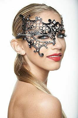 Phantom of the Opera Venetian Metal Filigree Laser Cut Masquerade Mask