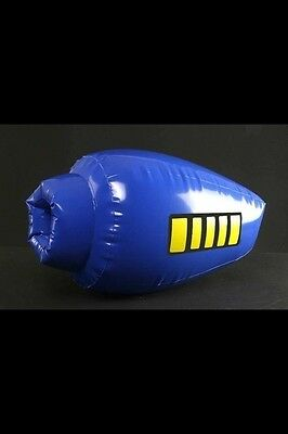 Sdcc 2014 Megaman Inflatable Buster Exclusive Comic Book World Collide Exclusive