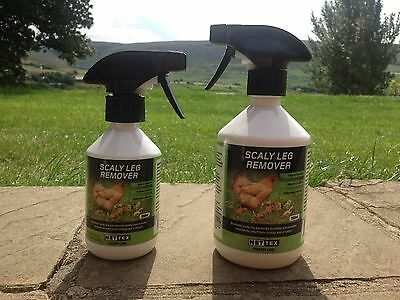 NETTEX SCALY LEG REMOVER 250ml 500ml Poultry