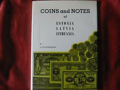 Book; Coins and Notes of Estonia, Latvia and Lithuania.