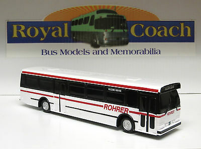 "Rohrer (PA) Orion V 10"" Plastic Bus - 1:50 scale"