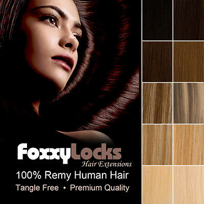 WEFT Hair Extensions Full Head 100% Human Remy